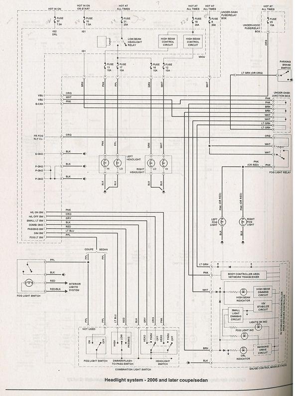 car headlight bulb wiring diagram for heat pump system where is the relay on a 2006 honda civic dx? - hondacivicforum.com