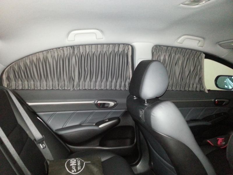 HondaCivicForum Com Customized Car Curtain KelvinSachi's Album