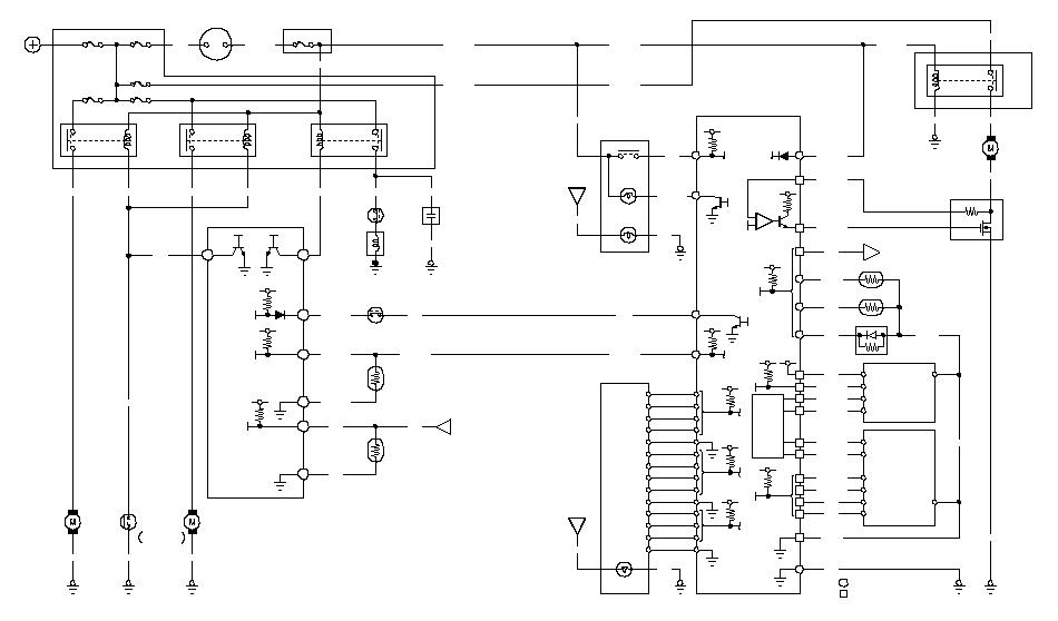 Climate Control Circuit Diagram