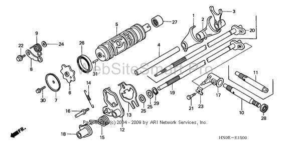 2003 Honda Foreman 450 Wiring Diagram Broken Shifter Repair Questions Honda Foreman Forums