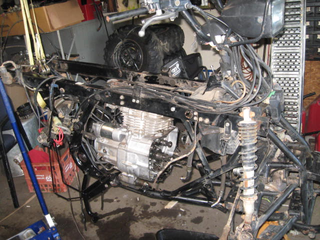 Honda Foreman Wiring Diagram Im All Done For Now Honda Foreman Forums Rubicon