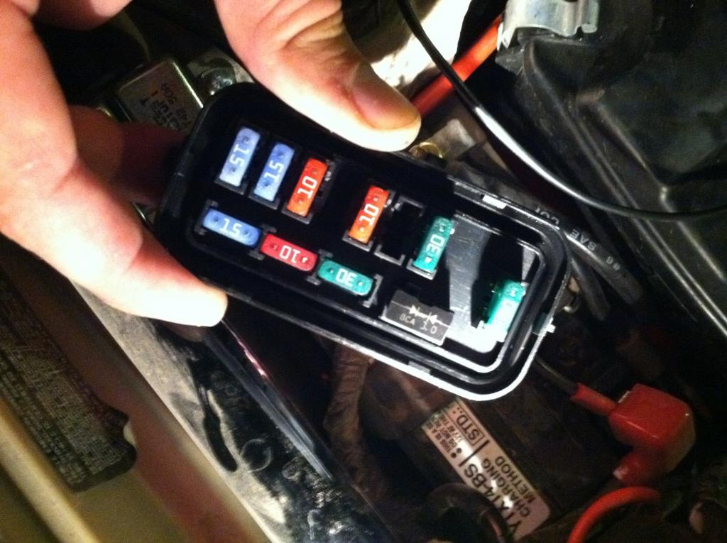 2003 Honda Rincon 650 Wiring Diagram What Is This And Why Is It In The Fuse Box Honda