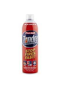 Have a tundra extinguisher on standby
