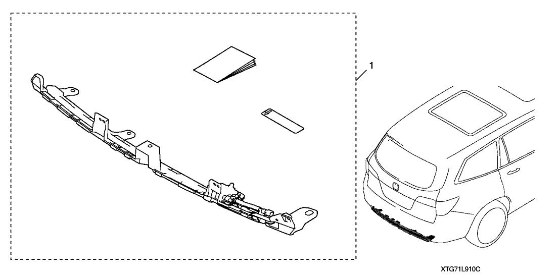 2019 Honda Pilot 5 Door TRG (2WD/CAPT SEAT) KA 9AT