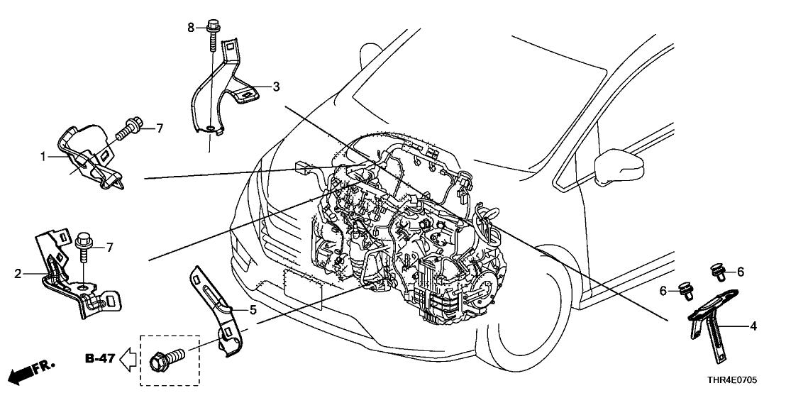 2018 Honda Odyssey 5 Door ELITE (10AT HPPG) KA XAT Engine