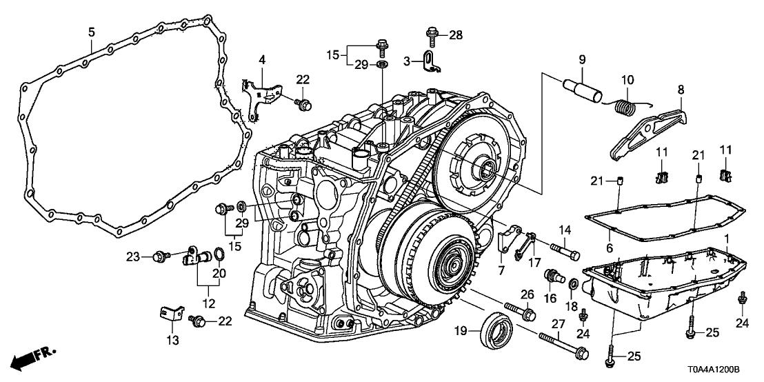 2016 Honda CR-V 5 Door LX (2WD) KA CVT AT Transmission