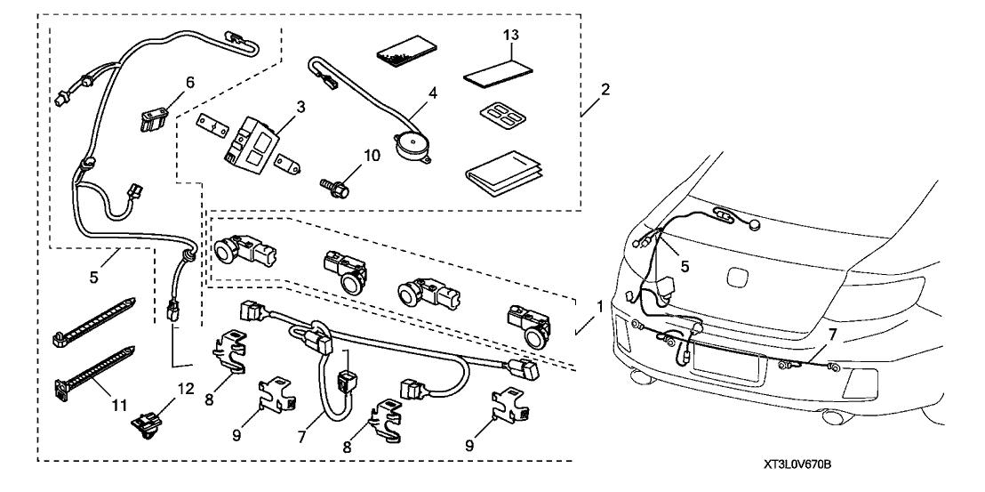 2014 Honda Accord 2 Door EX-LV6 (NAVIGATION) KA 6MT Back