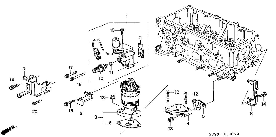 2000 Honda Insight 3 Door DX (A/C) KA 5MT Spool Valve