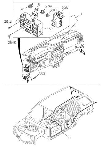2000 Honda Passport Exhaust Diagram