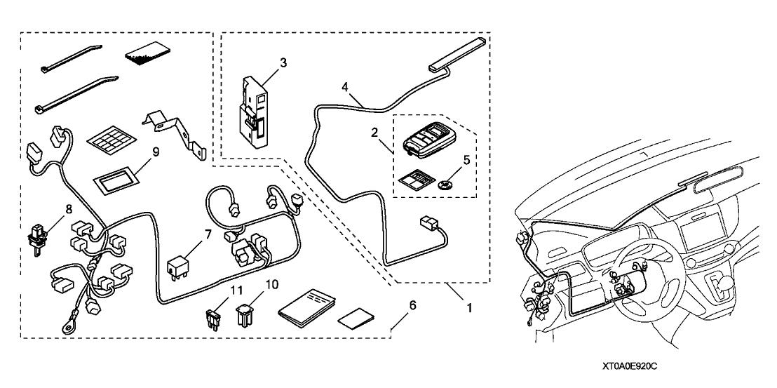 2015 Honda CR-V 5 Door TOURIN (AWD) KA CVT Remote Engine
