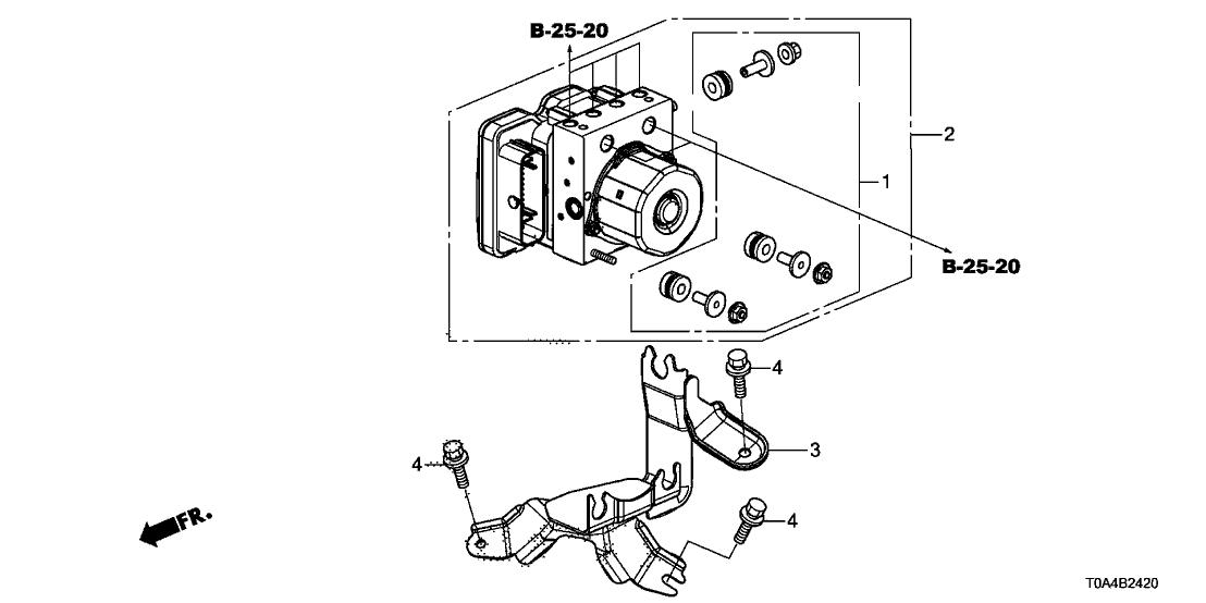 2015 Honda CR-V 5 Door LX (AWD) KA CVT VSA Modulator