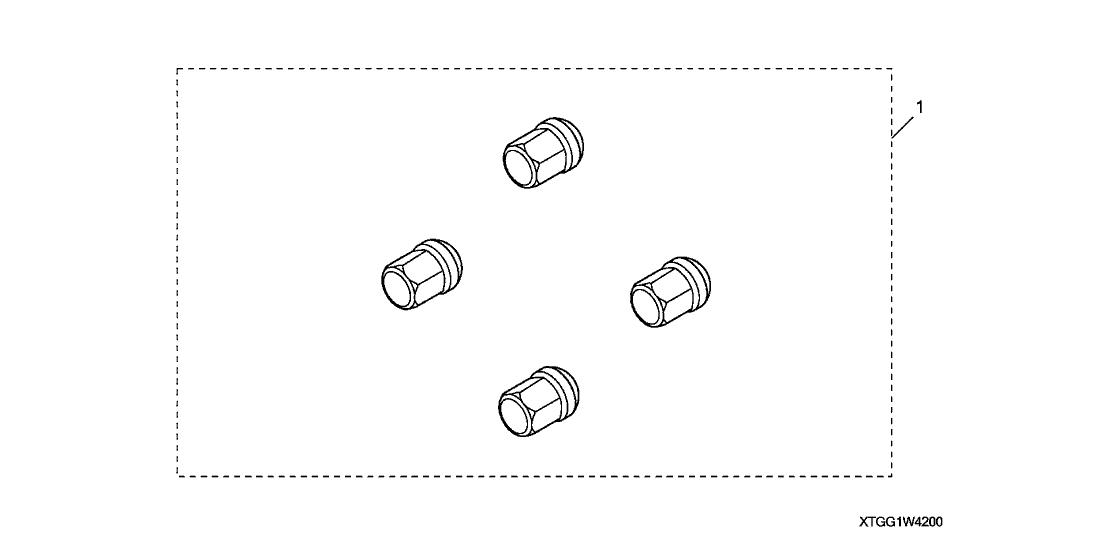 2018 Honda CR-V 5 Door 24LX (2WD/E.LIBERTY) KA CVT Wheel