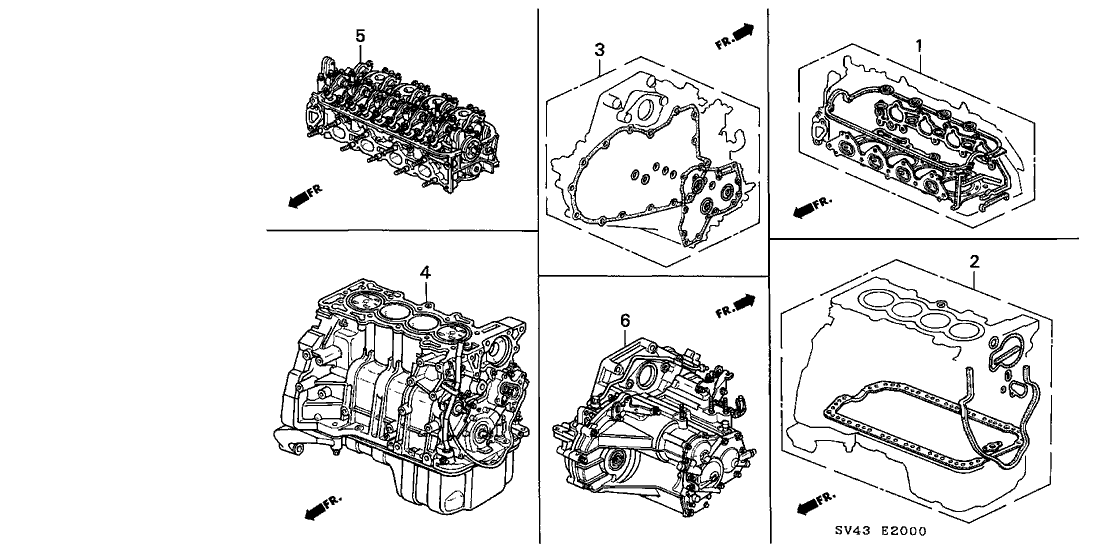 [DIAGRAM] Factory 93 Honda Accord Manual Transmission