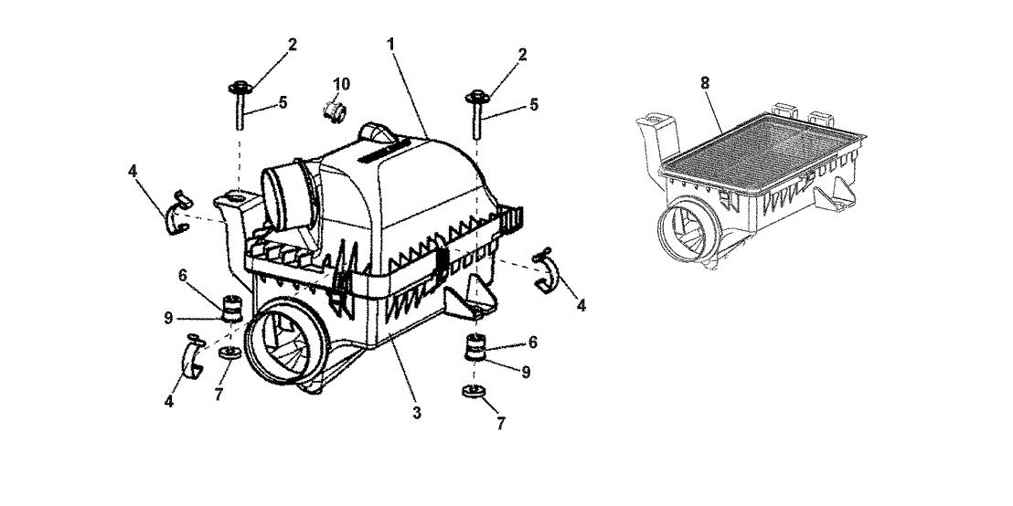 2014 Honda CR-Z 3 Door EX KA 6MT HPD- Air Filter