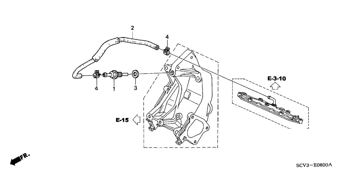 2003 Honda Element 5 Door EX (2WD SD AIR BAG) KA 4AT
