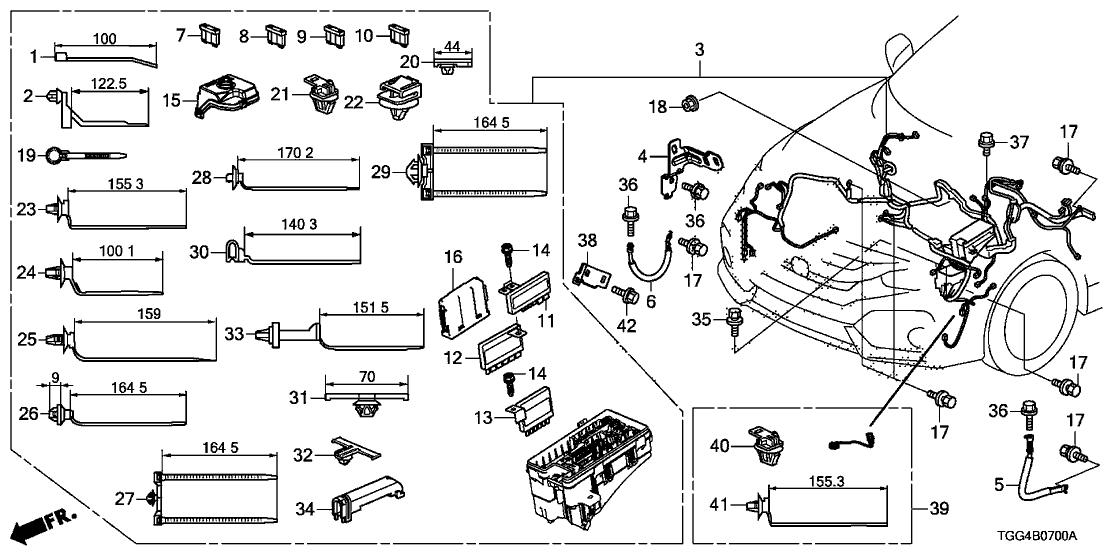 [DIAGRAM] 00 Civic Wire Harness Diagram FULL Version HD
