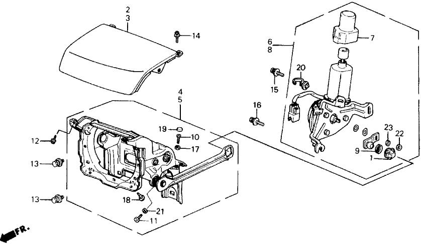 1991 Honda Prelude 2 Door 2.05SI (4WS) KA 5MT Retractable
