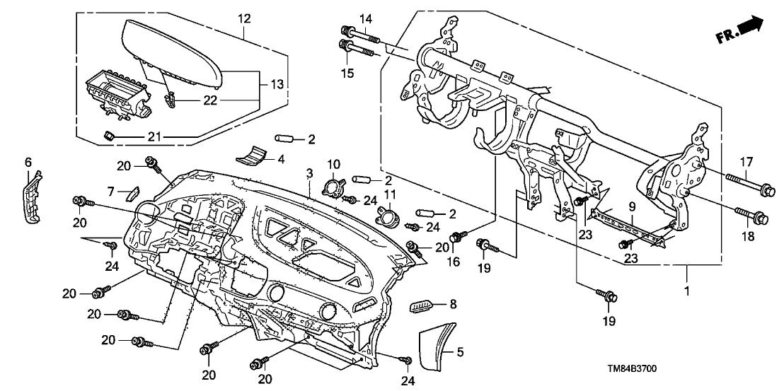 2010 Honda Insight 5 Door EX (NAVIGATION) KA CVT