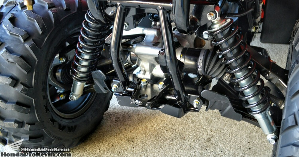 medium resolution of 2018 rancher 420 irs atv review independent rear suspension