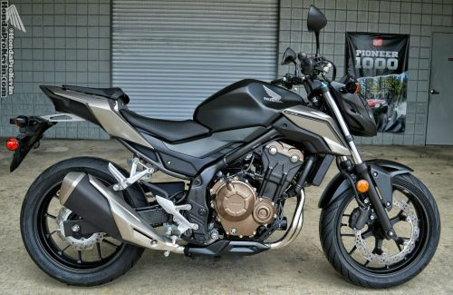 small resolution of the 2016 cb500f is a bold evolution that elevates the machine still further with a shot of naked streetfight style and rider focussed upgrades that add