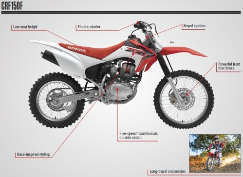 small resolution of  honda crf150f review specs dirt bike motorcycle off road trail crf 150 crf150 150f jpg