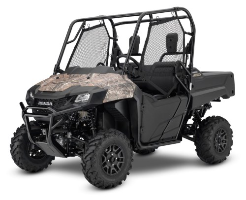 small resolution of 2017 honda pioneer 700 deluxe camo side by side atv utv sxs