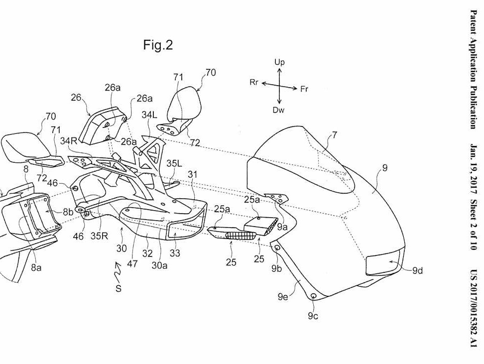 New 2018 Honda CBR600RR Changes on the Way? CBR Patent