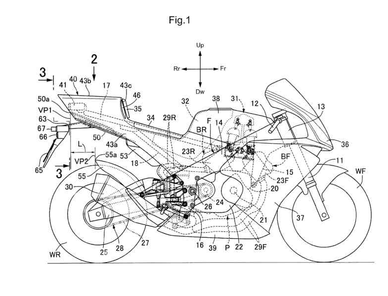 NEW Honda V4 Sport Bike Patents Filed = 2018 1000 cc CBR