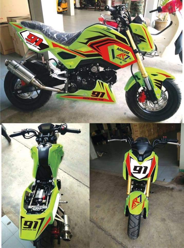 Mini Honda Sports Bike
