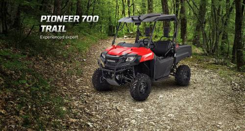 small resolution of honda pioneer 700 trail accessories package review hard top roof led lights
