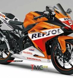 2016 2017 honda cbr250rr repsol sportbike motorcycle cbr350rr cbr300rr light weight super sports [ 1292 x 992 Pixel ]