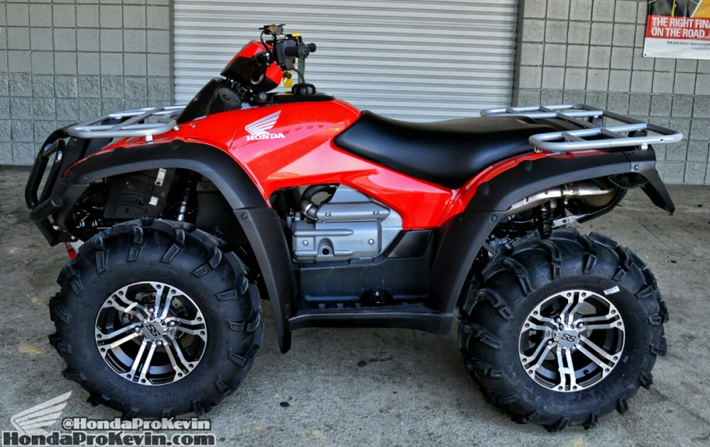 medium resolution of 2016 honda rincon 680 atv itp mud lite tires ss 212 wheels winch