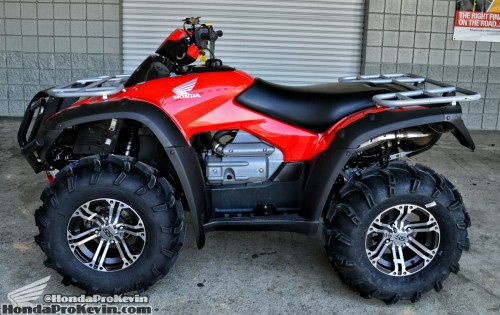 small resolution of 2016 honda rincon 680 atv itp mud lite tires ss 212 wheels winch