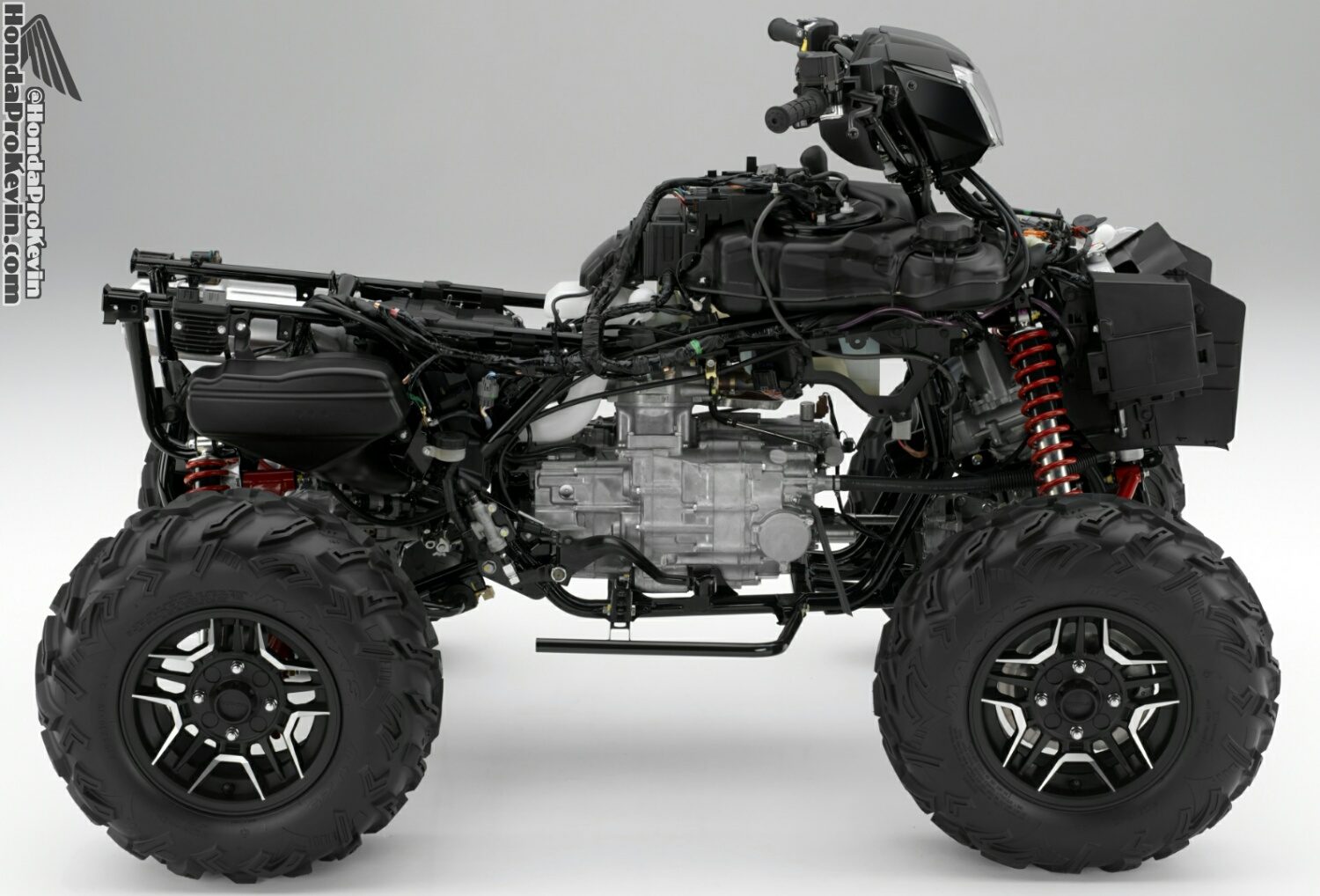 hight resolution of 2016 honda rubicon 500 atv frame engine review specs price hp