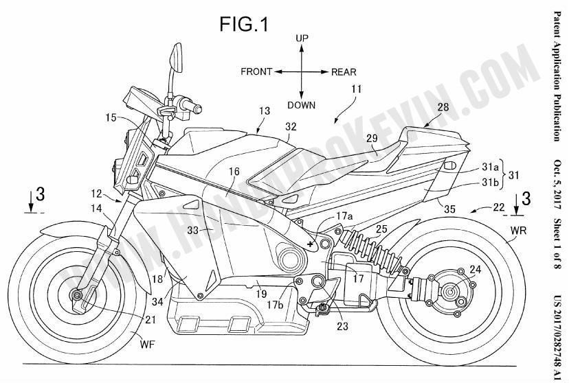 2019 = Electric Honda Motorcycles with Hybrid / Hydrogen