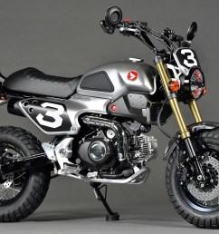 custom honda grom 50 scrambler motorcycle msx 125 jpg  [ 1387 x 987 Pixel ]