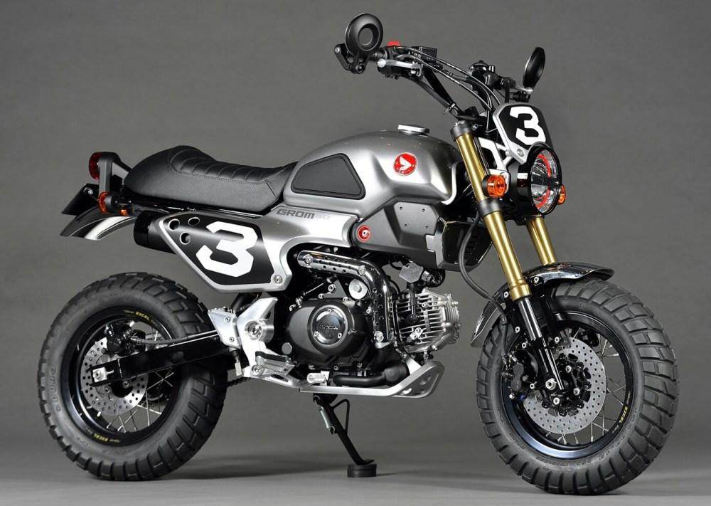 medium resolution of  custom honda grom 50 scrambler motorcycle msx 125 jpg
