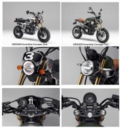 new 2019 honda grom scrambler monkey 125 grom motorcycles 125cc mini bi  [ 1341 x 1441 Pixel ]