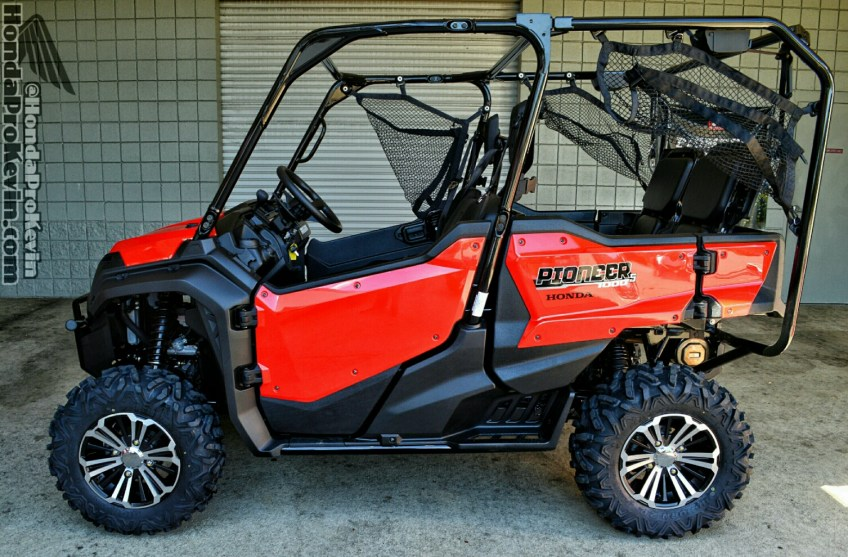 2016 pioneer 1000 5 drive review all new honda side by side atv utv sxs honda pro kevin. Black Bedroom Furniture Sets. Home Design Ideas