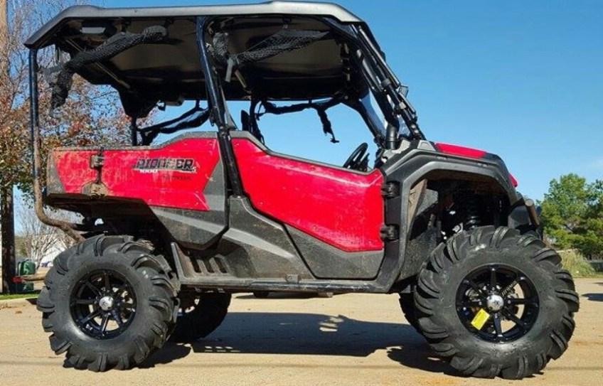 2016 honda pioneer 1000 lift kit 31 tires arched a arms side by side atv utv parts. Black Bedroom Furniture Sets. Home Design Ideas