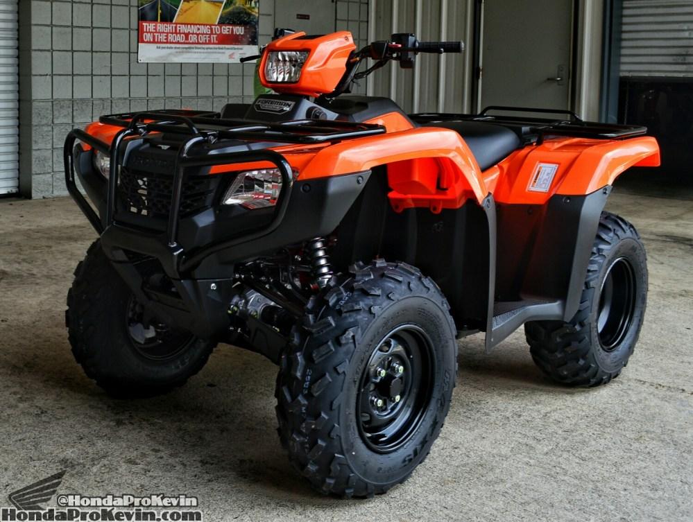 medium resolution of 2018 honda foreman 500 atv review specs horsepower price four wheeler