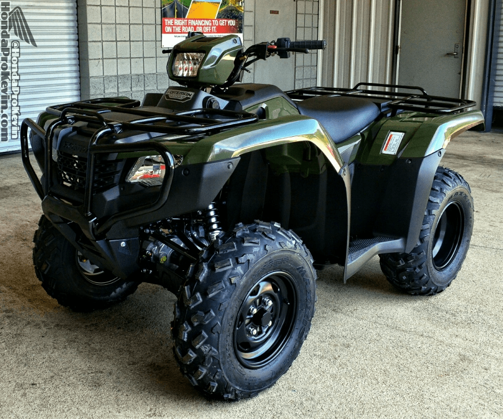 medium resolution of 2018 honda foreman 500 atv review specs 4x4 four wheeler horsepower performance
