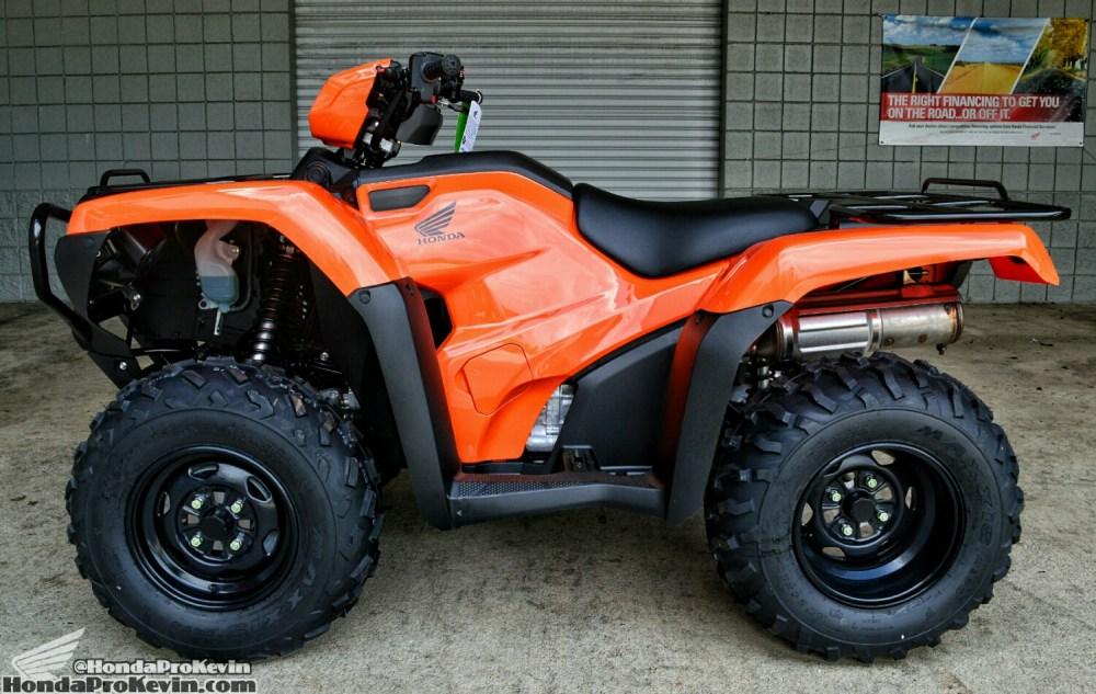 medium resolution of 2016 honda foreman 500 atv review specs horsepower price four wheeler