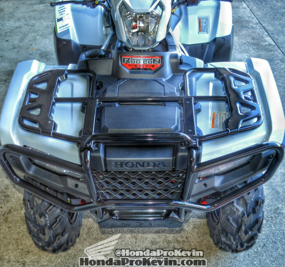 medium resolution of 2016 honda rubicon deluxe dct eps atv review of specs trx500fa7