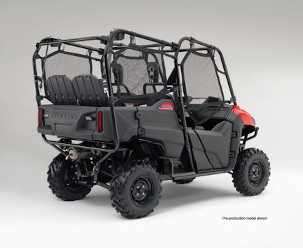 2016 honda pioneer 700 4 review of specs development features more honda pro kevin. Black Bedroom Furniture Sets. Home Design Ideas