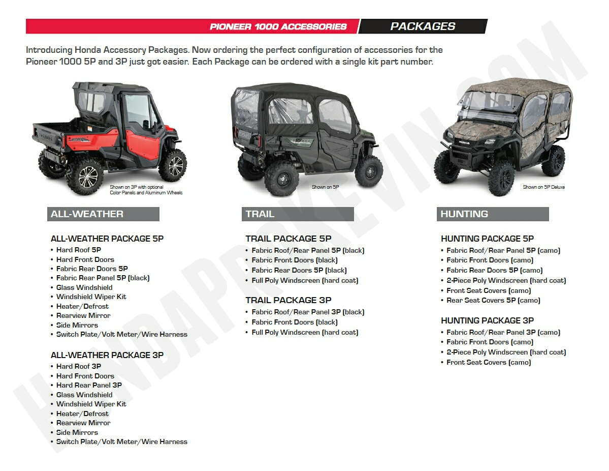 Honda Pioneer Parts Amp Accessories Review