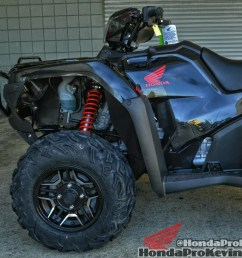 2016 honda fourtrax foreman rubicon 500 deluxe black 4x4 atv custom [ 1026 x 864 Pixel ]