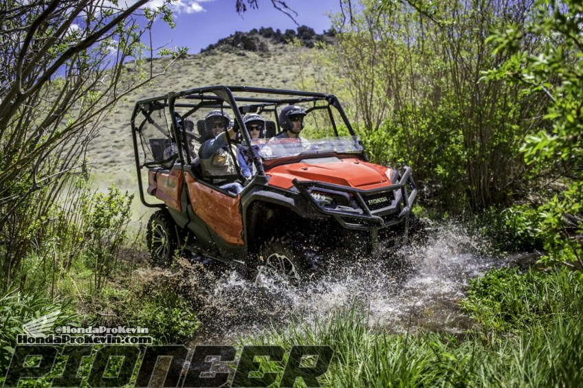 official 2016 honda pioneer 1000 horsepower announcement sxs utv side by side atv. Black Bedroom Furniture Sets. Home Design Ideas