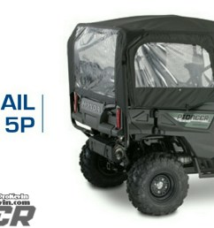 honda pioneer 1000 5 trail package accessories parts sxs utv  [ 1500 x 719 Pixel ]