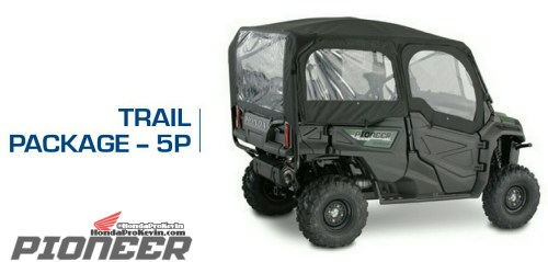small resolution of honda pioneer 1000 5 trail package accessories parts sxs utv